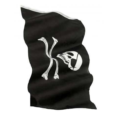 Pavillon Pirate avec Tête de Mort