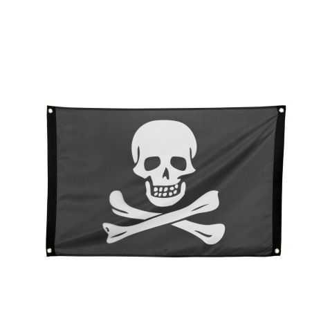 Drapeau Pirate avec tête de Mort