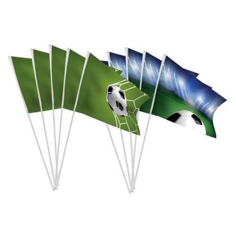 Petits drapeaux motif Football