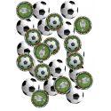 Confettis de table thème Football