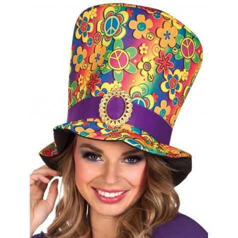 Chapeau déguisement Hippie