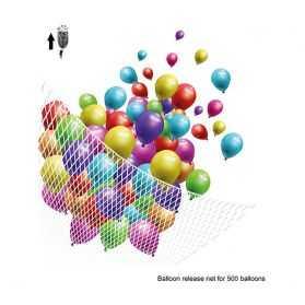 Filet pour retenir des ballons gonflés à l'hélium