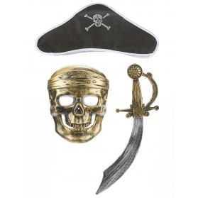 Kit accessoires pour se déguiser en Pirate