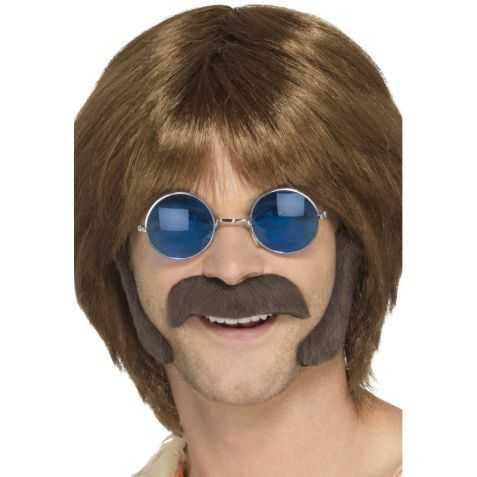 Fausse Moustache de Hippie