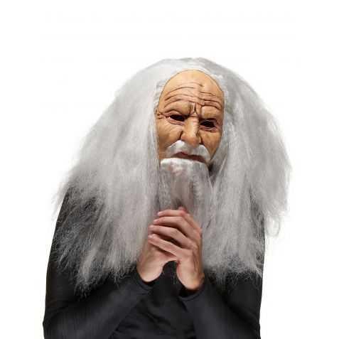 Masque Vieux Sorcier en latex adulte
