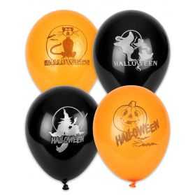 100 Ballons Halloween