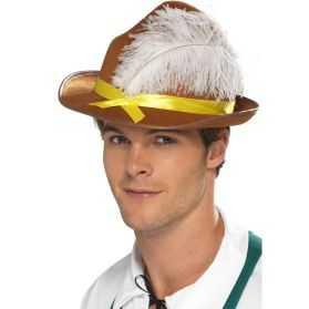 Chapeau Bavarois avec plume