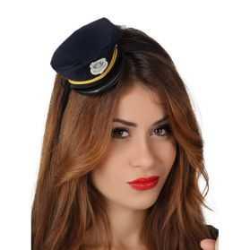 Serre-Tête mini chapeau Policier