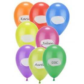 Ballons de baudruche à personnaliser