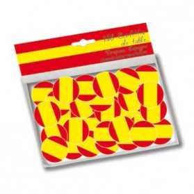 Confettis drapeau espagnol