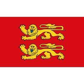 décoration drapeau normandie