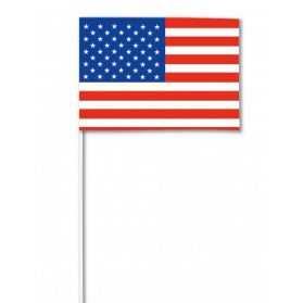 Drapeau USA sur hampe