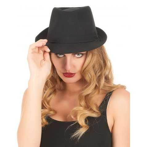 Chapeau déguisement Gangster