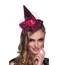 Mini chapeau de sorcière adulte