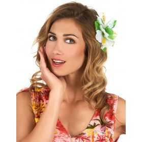 fleur tropicale à mettre dans les cheveux