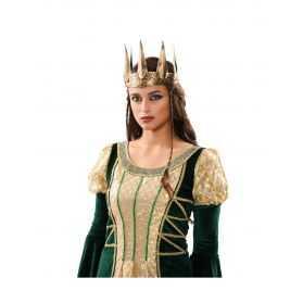 Couronne déguisement de Reine adulte