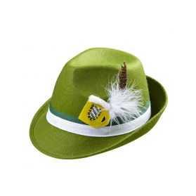 Chapeau Tyrolien / Bavarois avec plume