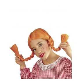 Perruque enfant pour se déguiser en Poupée