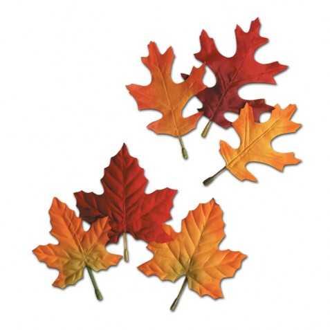 fausses feuilles de chene