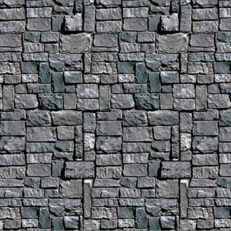 Décor Donjon Mur de pierres
