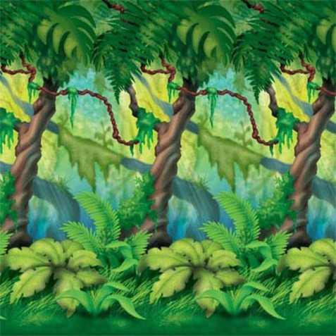 Décor mural Arbres forêt tropicale