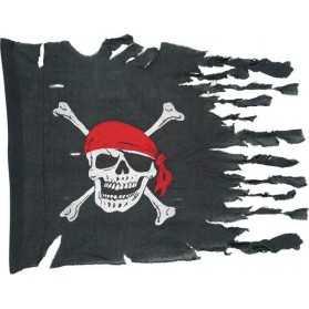 Drapeau Pirate abimé