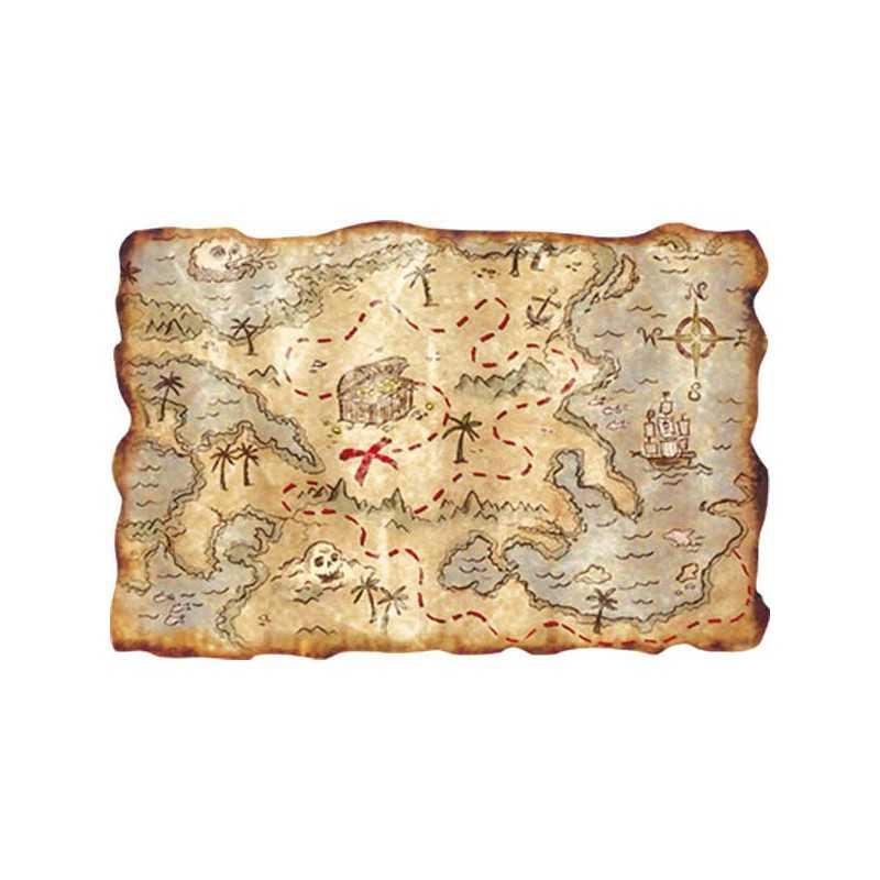 Extraordinaire Carte au trésor - décoration pour chasse aux trésors @BR_04