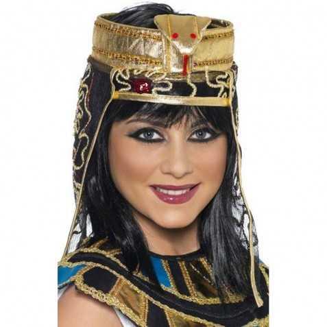 Coiffe Egyptienne avec serpent