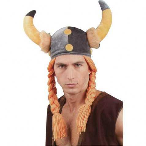 Chapeau Gaulois avec tresses