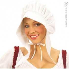Bonnet de Dame blanc