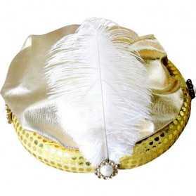 Chapeau de Pacha avec plume et aigrette