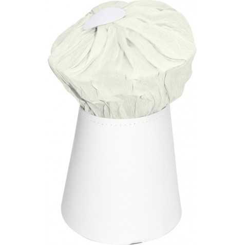 Toque Blanche de Cuisinier grand modèle en carton