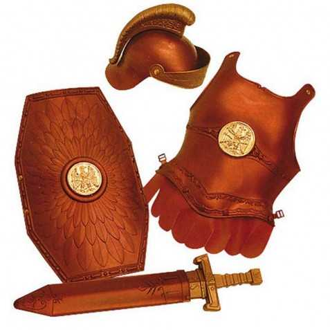 Kit accessoires Enfant pour se déguiser en Légionnaire Romain