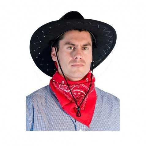 foulard cowboy rouge