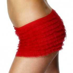 jupe rouge danseuse de cabaret
