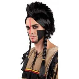 Perruque de Guerrier Mohawk