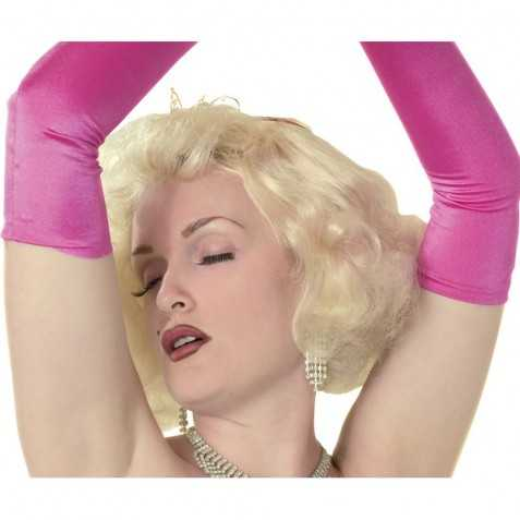 Perruque Marylin Blonde platine