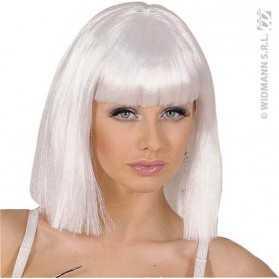 Perruque Meneuse de revue avec cheveux blancs