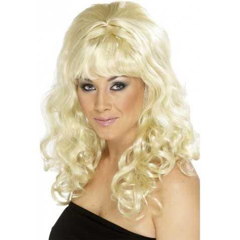 Perruque de Blonde de la télé réalité