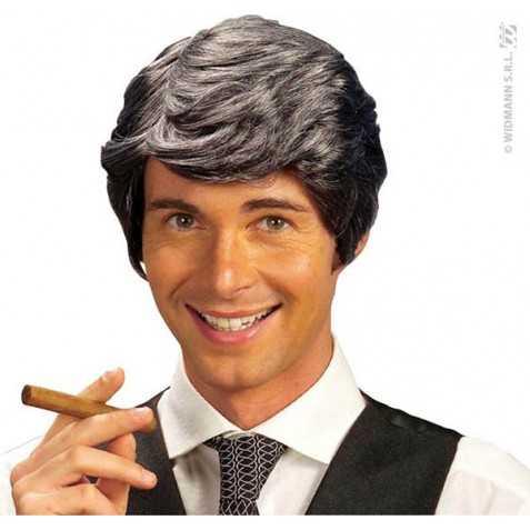 Perruque deguisement acteur américain