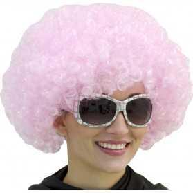 Perruque rose pour faire la fête
