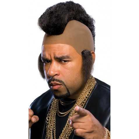 Perruque avec crête style l'unique Mister T