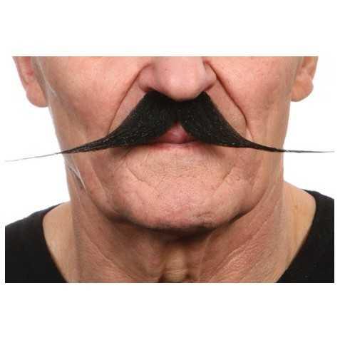Moustaches Cycliste d'antan Noir