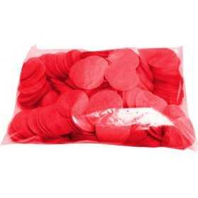 Confettis Scène Rouge ronds 1kilo