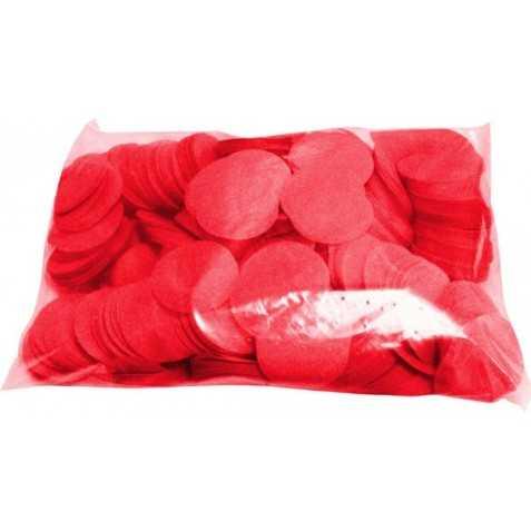 Confettis de scène rouges