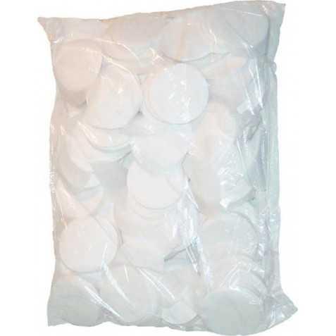 Confettis Scène Blanc Fluo ronds 1kilo