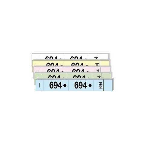 Carnet de 50 tickets avec 3 souches numérotées