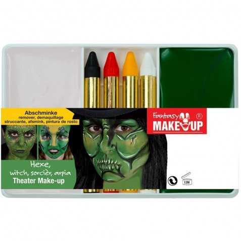 Petit kit pour se maquiller en Sorcière Verte