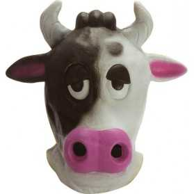 Masque latex Vache Adulte