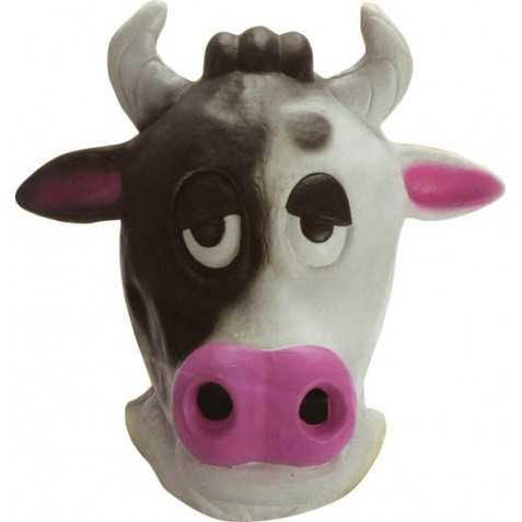 Masque latex Vache Adulte